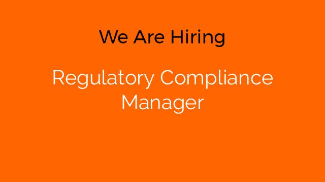 Regulatory Compliance Manager