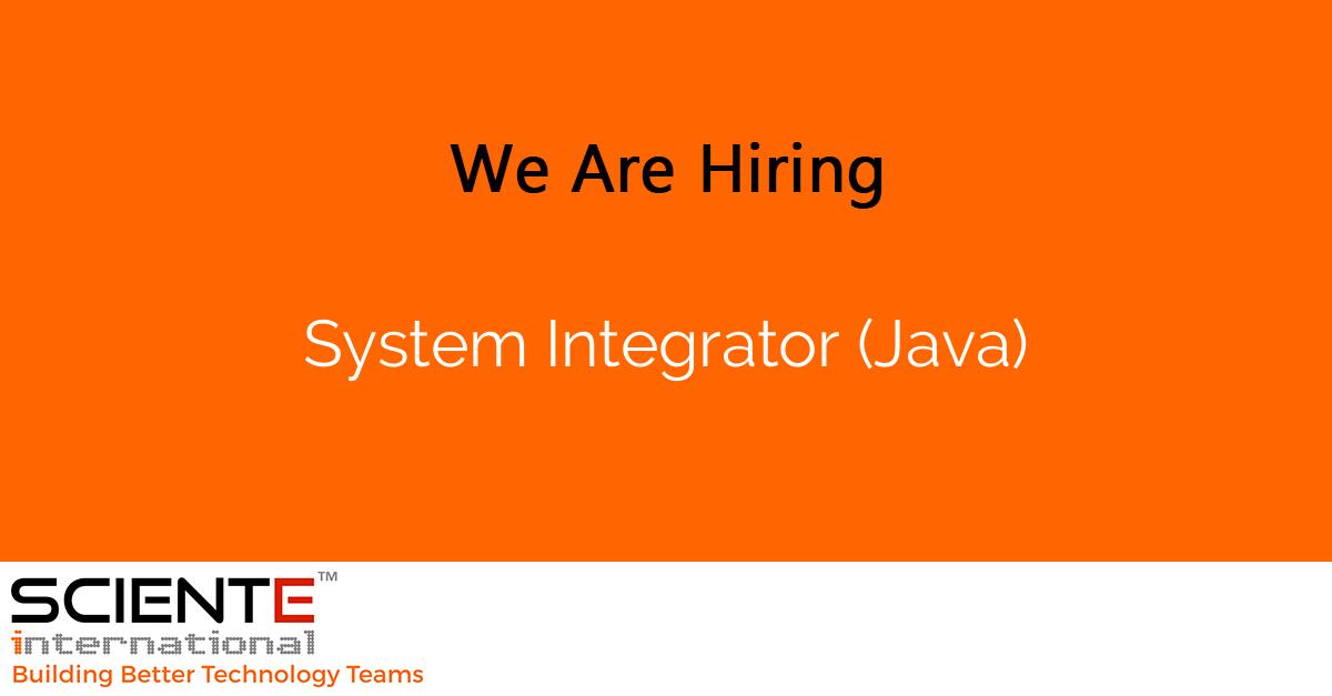 System Integrator (Java)