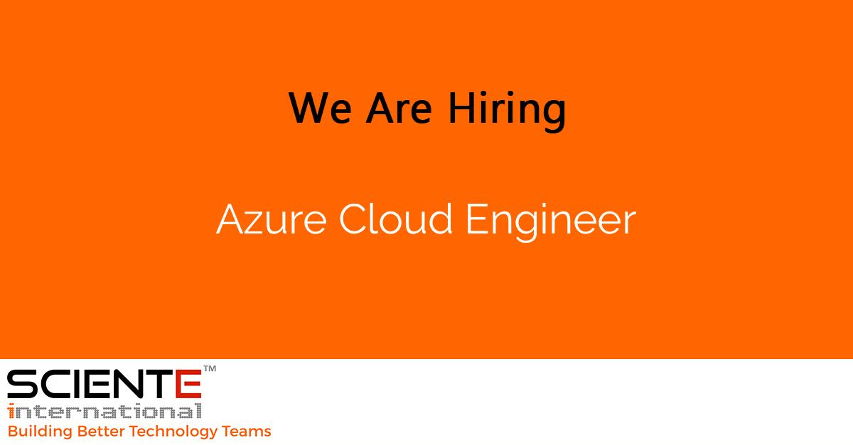 Azure Cloud Engineer