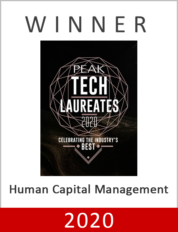 The Peak Tech Laureates 2020 Award under Human Capital Management category