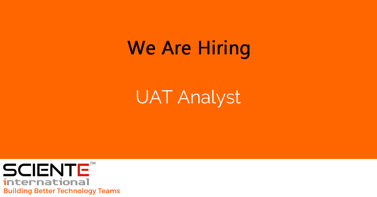 UAT Analyst