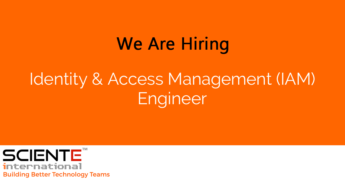 Identity & Access Management (IAM) Engineer