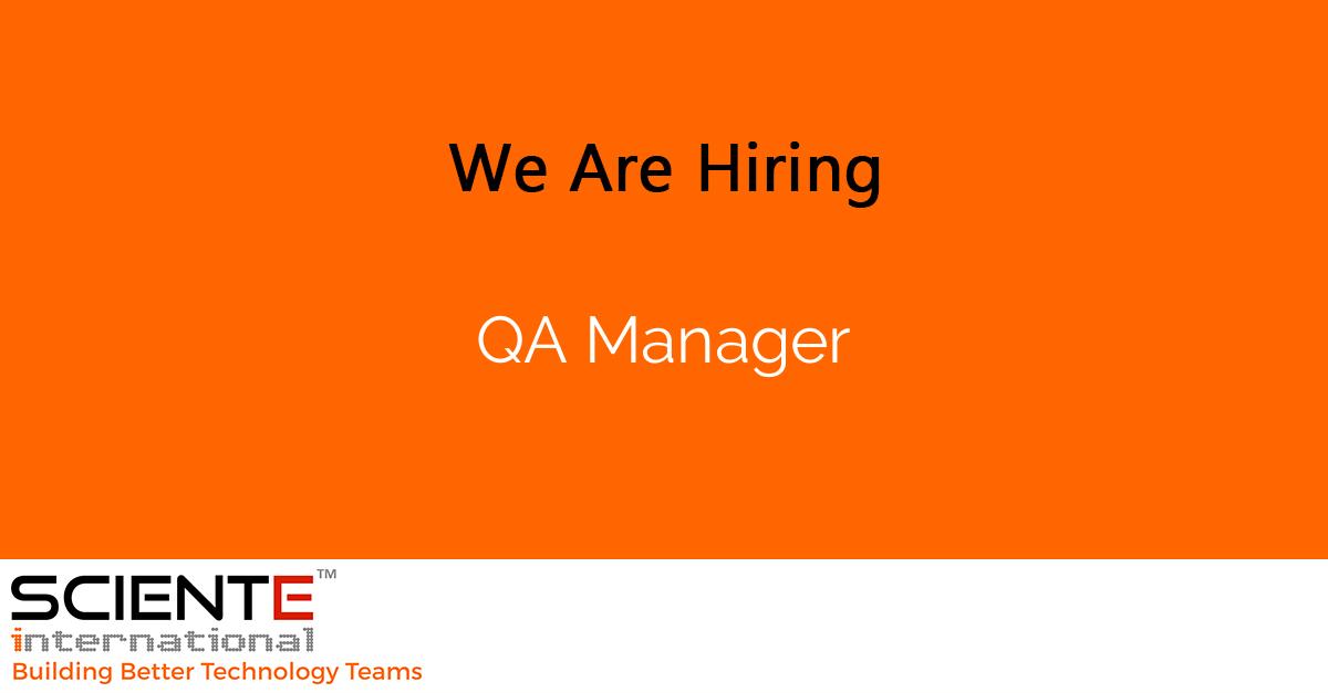 QA Manager