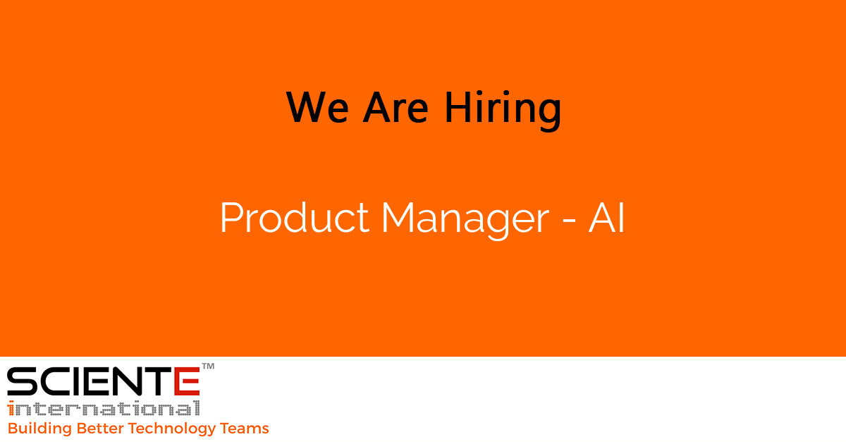 Product Manager - AI