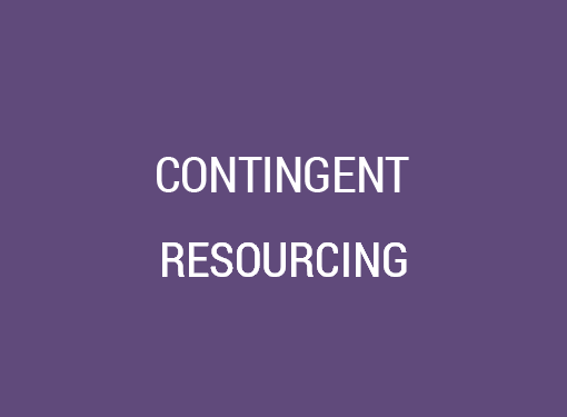 Contingency IT Resourcing Services