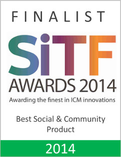 Finalist – Best Social and community product by SiTF Awards 2014