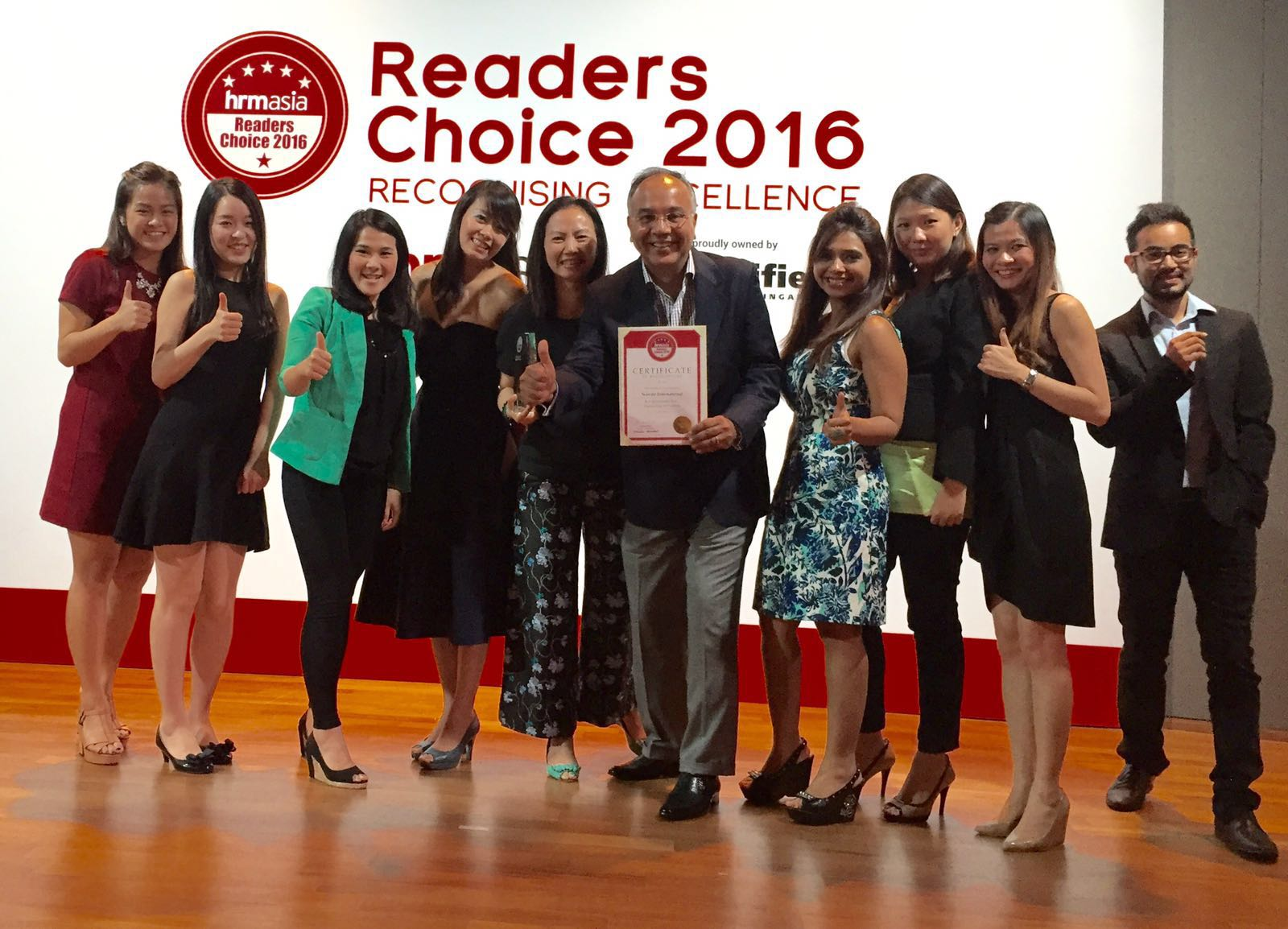 Sciente Wins The Best Recruitment Firm for Engineering & IT Positions