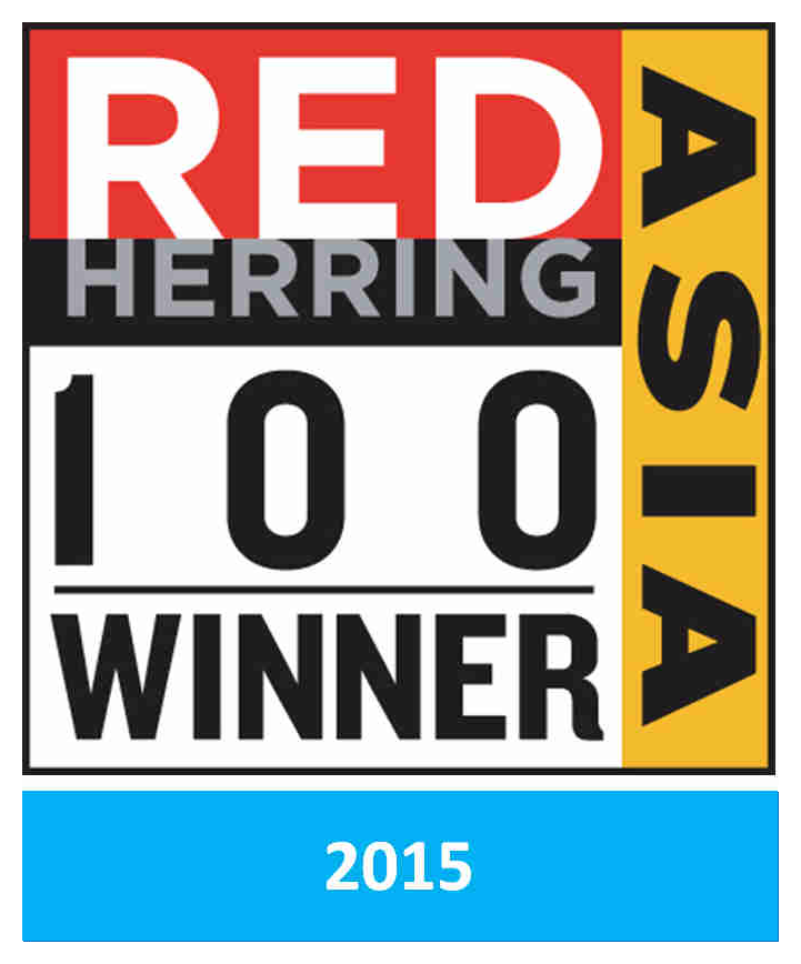 Sciente International - Winner of Red Herring Top 100 ASIA Award