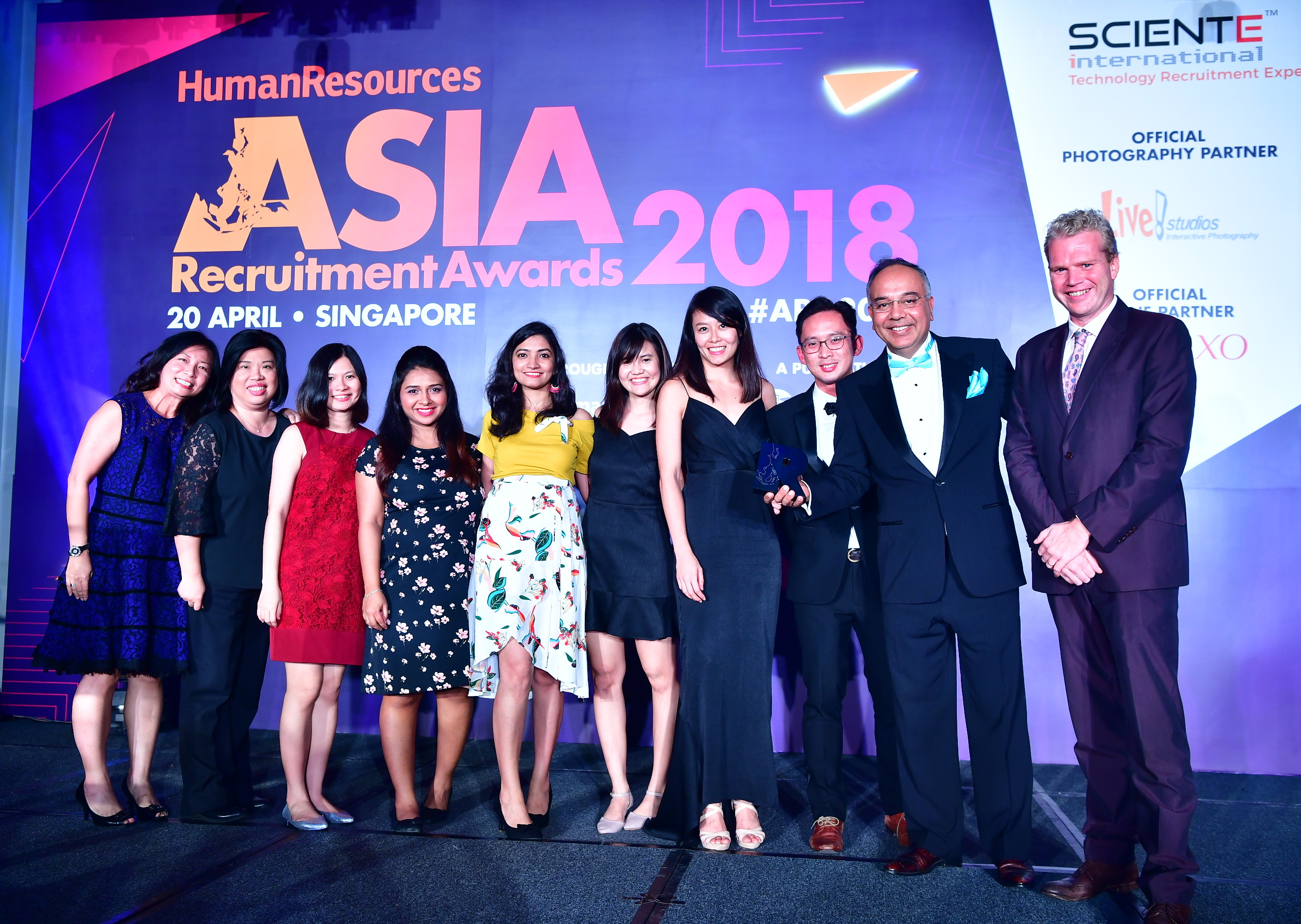 Sciente International is judged The Best Recruitment Agency - Technology, 2018
