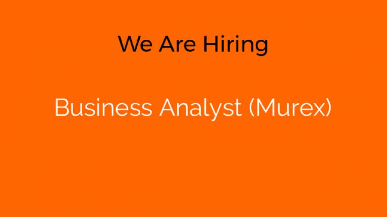 Business Analyst (Murex)
