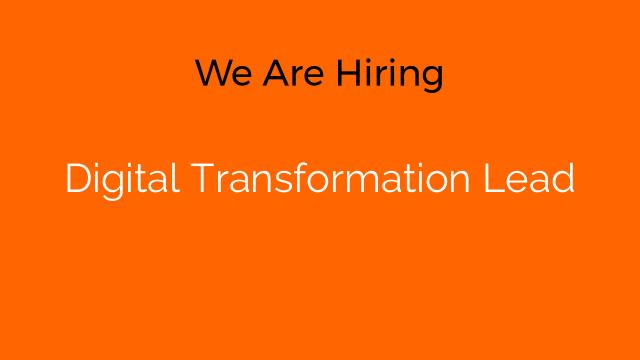 Digital Transformation Lead