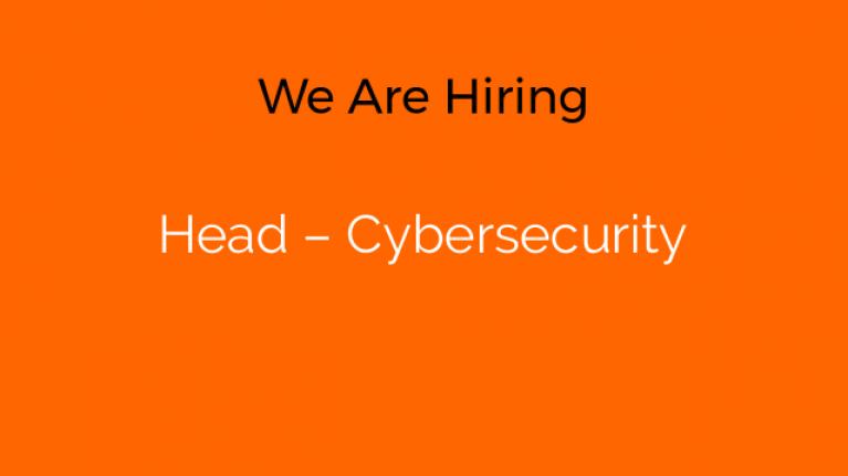 Head – Cybersecurity