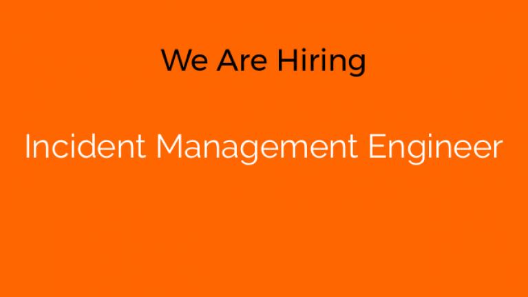 Incident Management Engineer