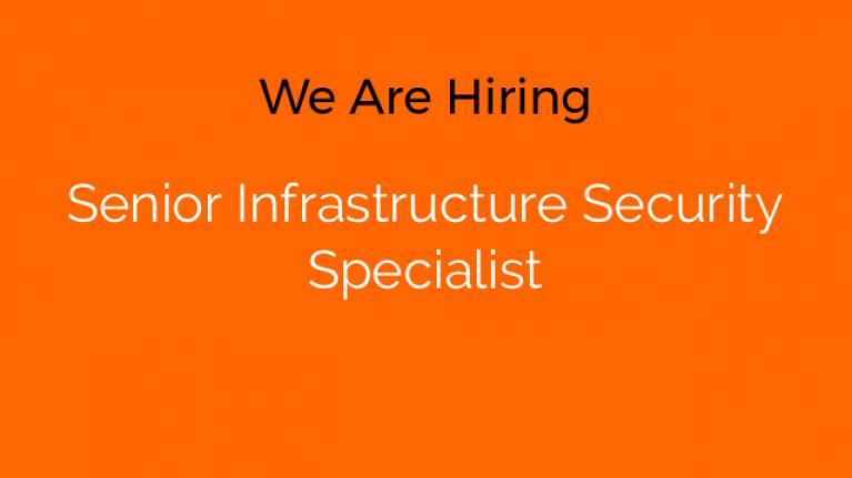 Senior Infrastructure Security Specialist