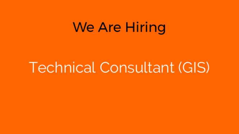 Technical Consultant (GIS)
