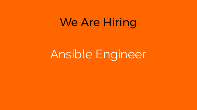 Ansible Engineer