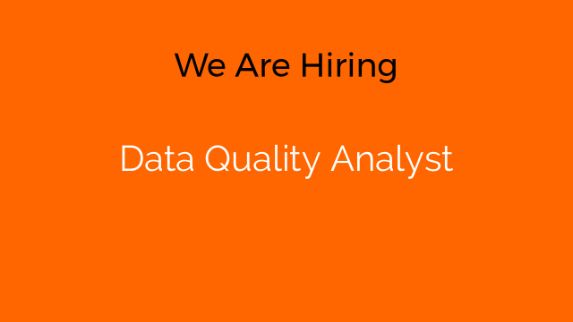 Data Quality Analyst