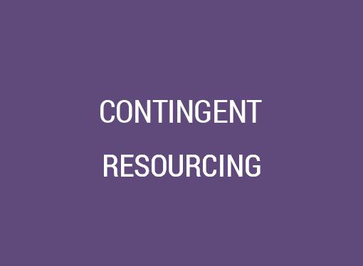 Contingent Resourcing
